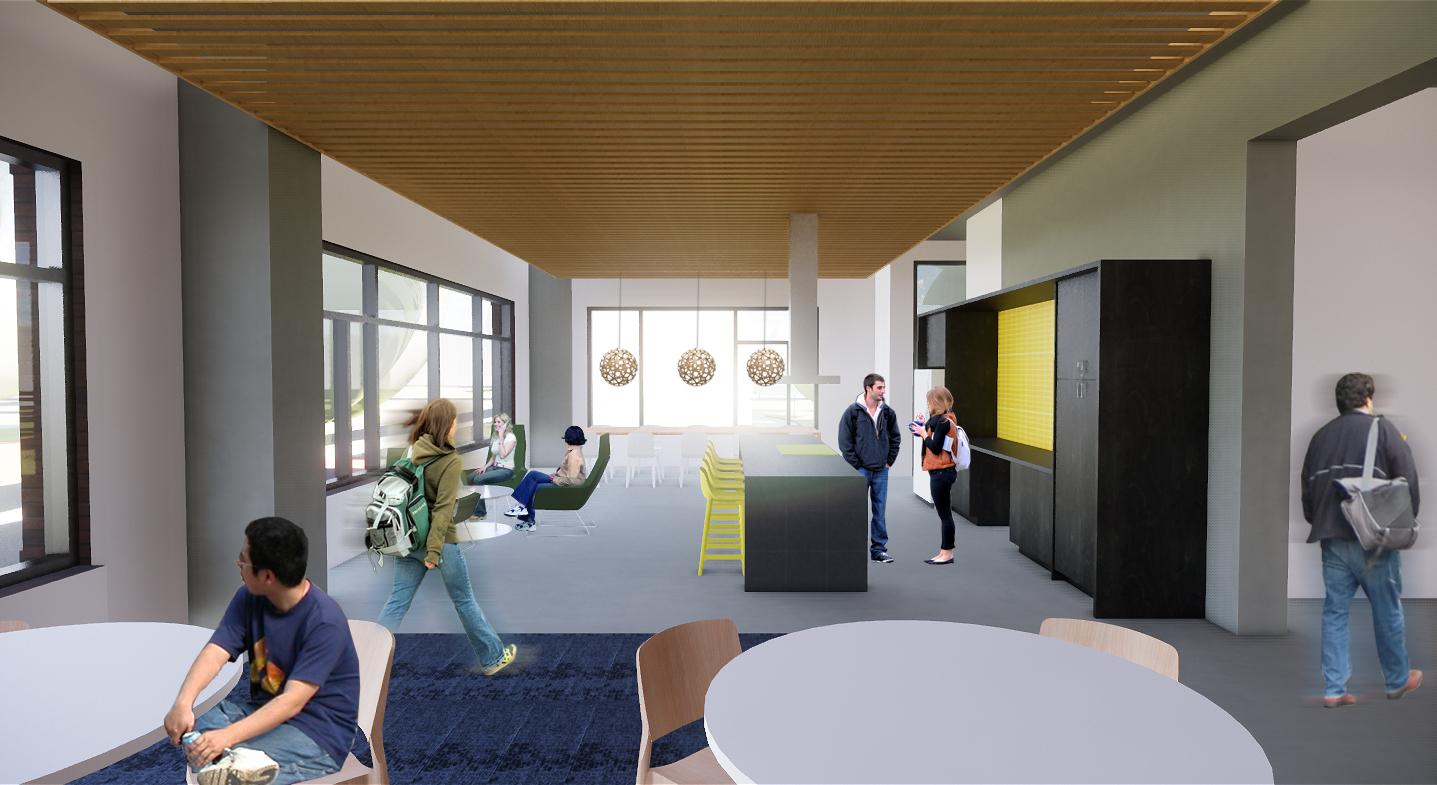 New residence hall amenities