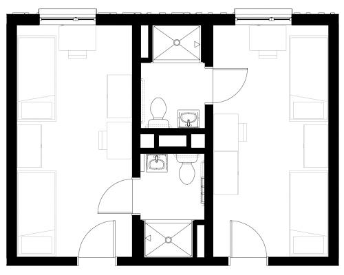 new residence hall room type